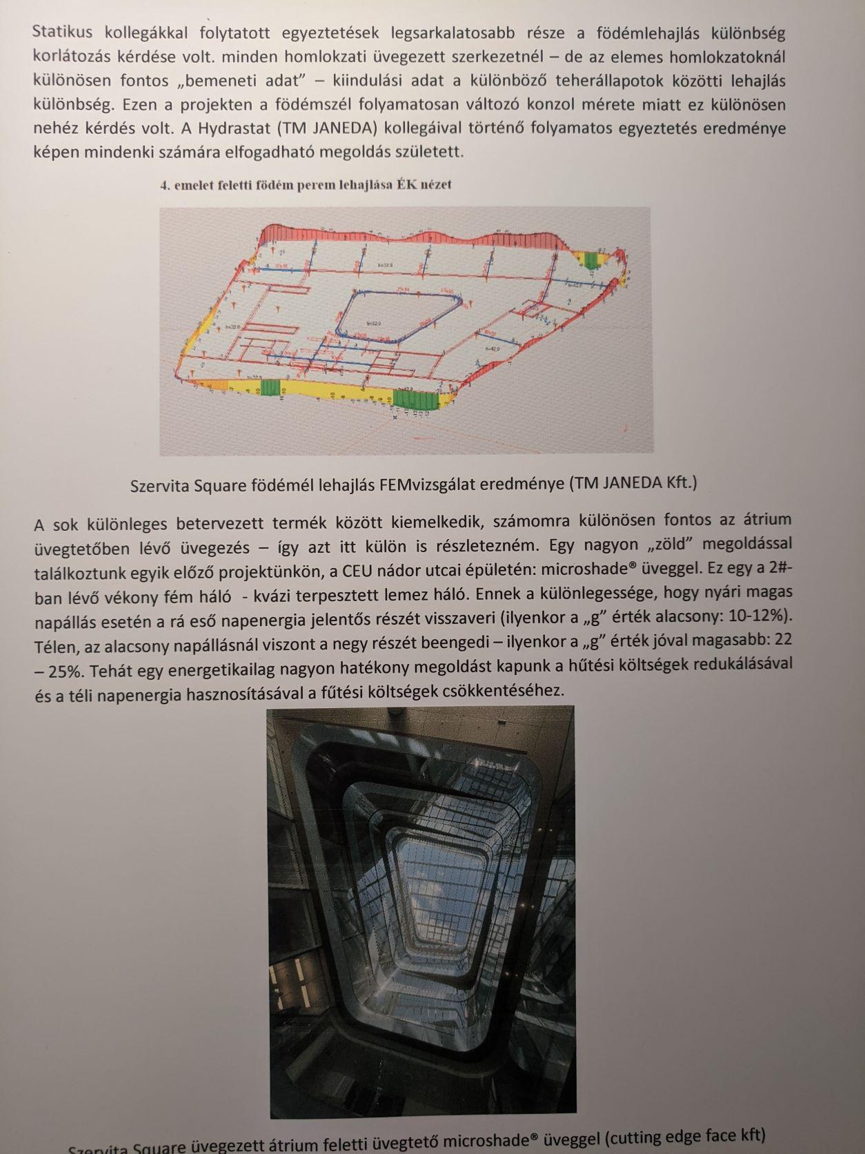 Szervita Square - Homlokzati terv- Kucsera Márton